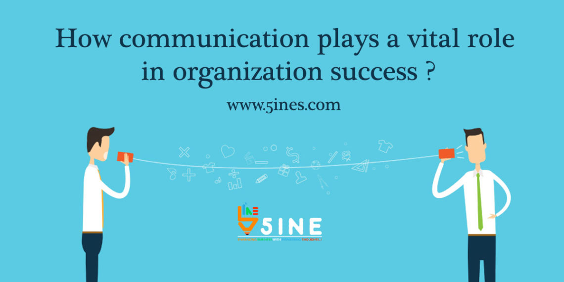 role of communication in an organization The role of business and administrative communication in an organization 1170 words | 5 pages business communication introduction communication is a connection established between people or places aimed at passing on a message or information to the target person.